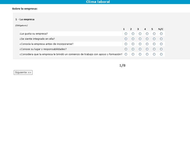 Ejemplos de encuestas online - Modelos de encuestas